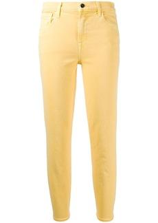 J Brand Ruby cropped straight-leg jeans