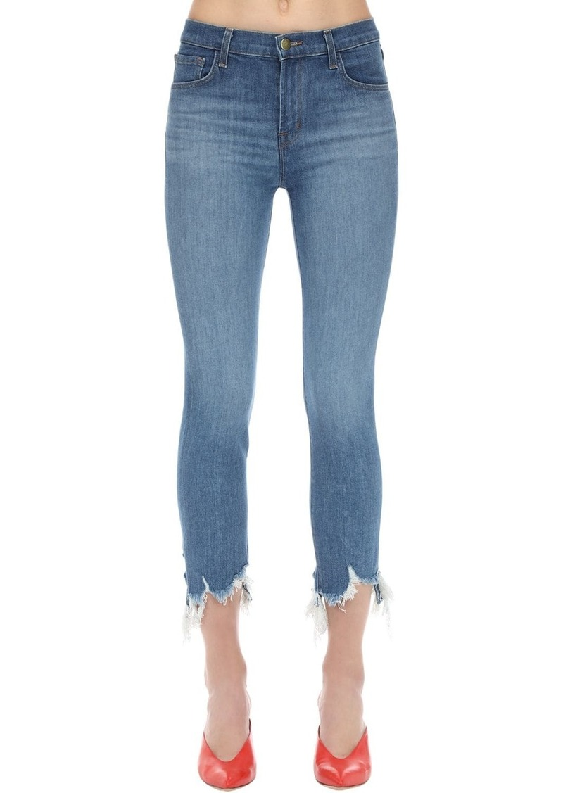 J Brand Ruby High Cigarette Stretch Denim Jeans