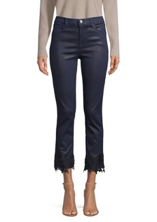 J Brand Ruby High-Rise Cropped Cigarette Jeans
