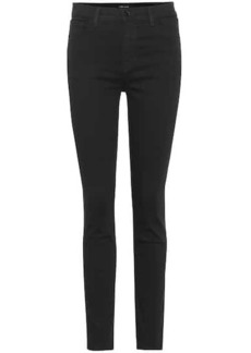J Brand Ruby high-waisted skinny jeans