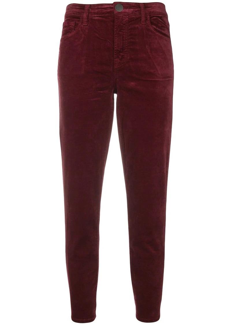 J Brand Ruby velvet jeans