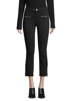 J Brand Ruby Moto Zip Detail Jeans