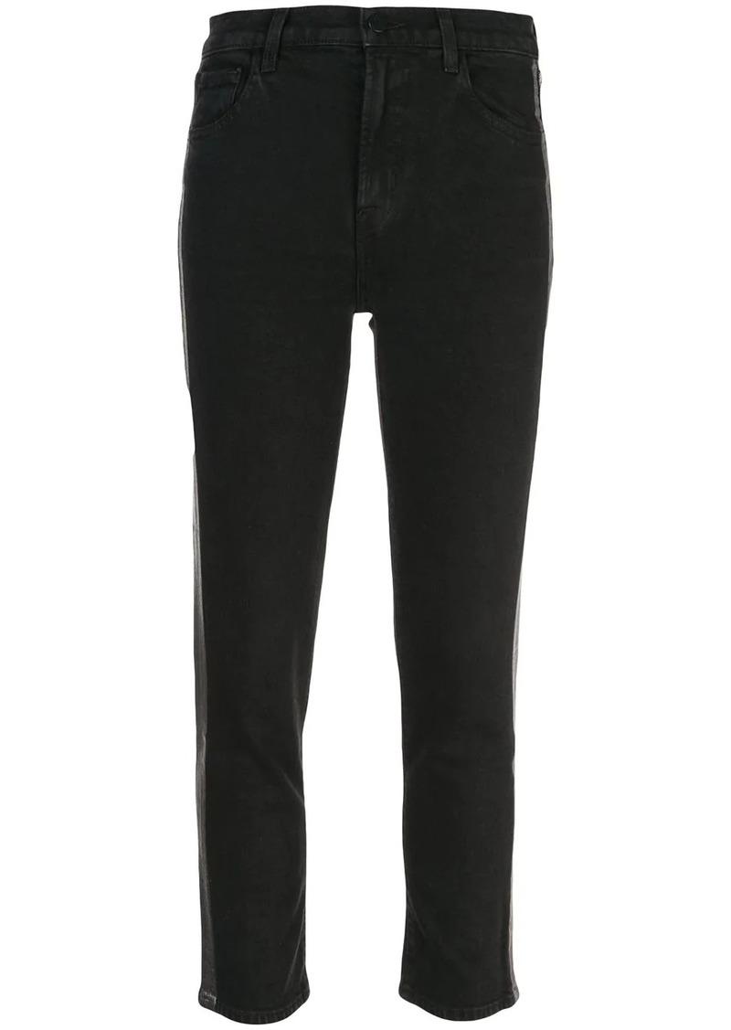 J Brand ruby stripe skinny jeans
