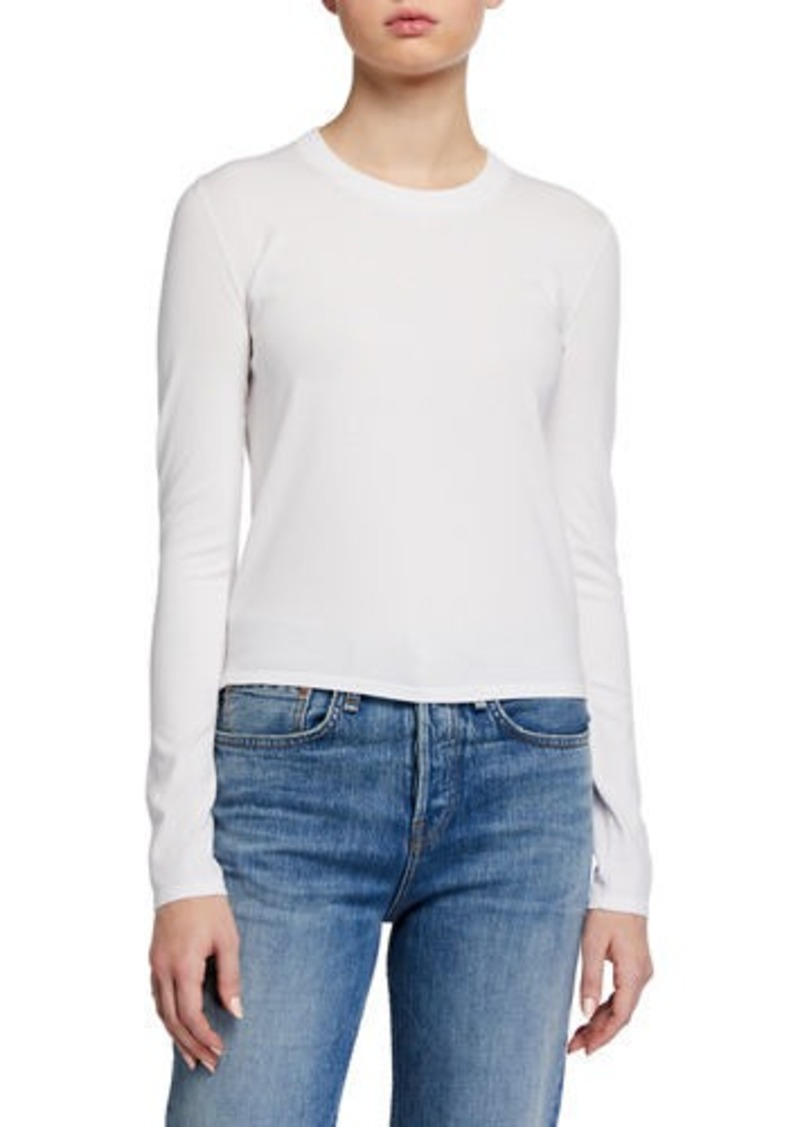 J Brand Ruth Long-Sleeve Sweater Tee
