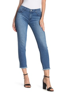 J Brand Sadey Mid Rise Slim Straight Crop Jeans