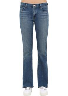 J Brand Selena 32 Mid Rise Flared Denim Jeans