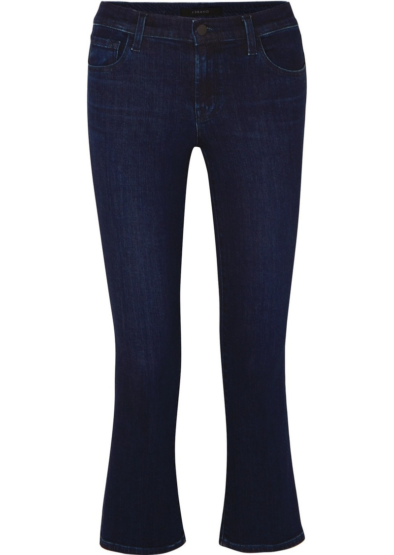 J Brand Selena Cropped Flared Jeans