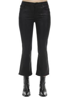 J Brand Selena Faux Leather Boot Cut Pants