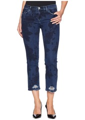 J Brand Selena Mid-Rise Crop Boot Cut Jeans in Cotillion