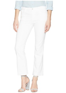 J Brand Selena Mid-Rise Crop Boot in Blanc