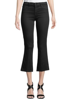 J Brand Selena Mid-Rise Crop Boot Jeans