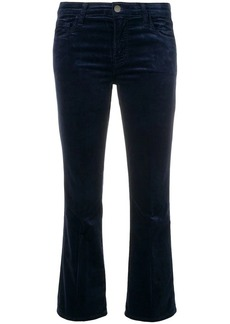 J Brand Selena mid-rise cropped trousers