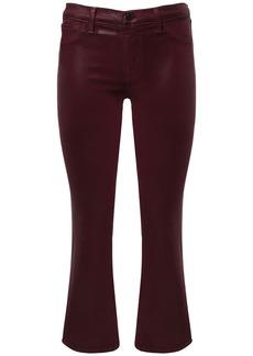 J Brand Selena Mid Waist Crop Coated Jeans