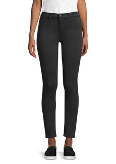 J Brand Skinny Sateen Jeans