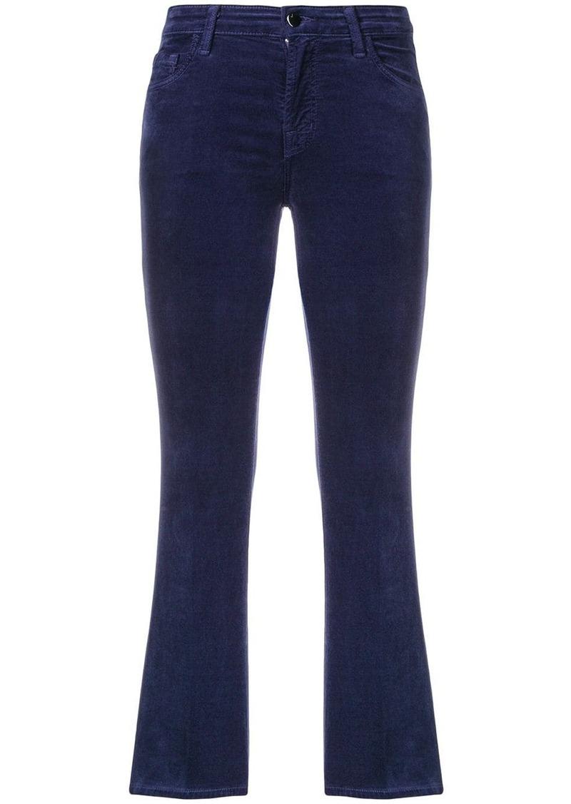 J Brand slim-fit cropped jeans