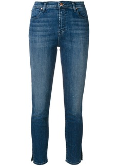 J Brand slim fit cropped jeans