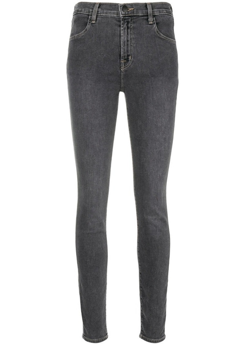 J Brand slim-fit faded jeans