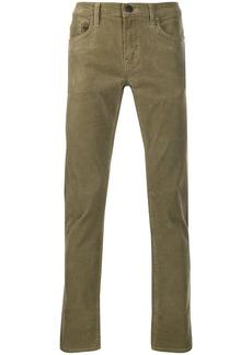 J Brand slim-fit textured trousers