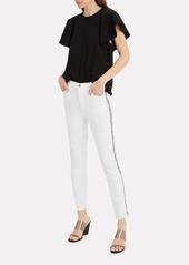 J Brand Alana Snakeskin Stripe Jeans