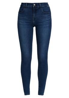 J Brand Sophia Mid-Rise Super Skinny Jeans