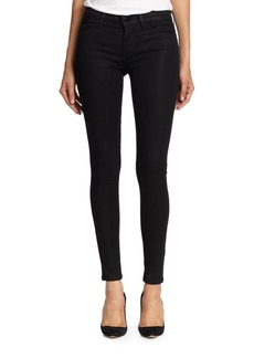 J Brand Stocking Coated Super Skinny Jeans