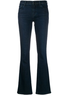 J Brand stonewashed flared jeans