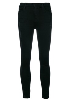 J Brand stretch skinny cropped trousers