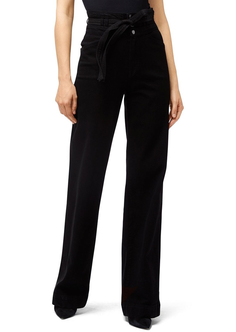 J Brand Sukey High-Rise Wide-Leg Pants