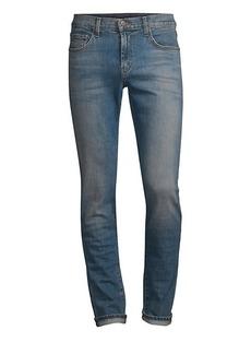 J Brand Taper Tyler Distressed Slim Fit Jeans