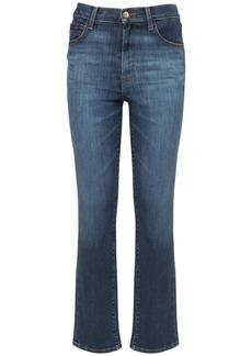 J Brand Teagan High Waist Straight Jeans