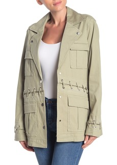 J Brand Teagan Whipstitch Utility Jacket