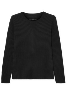 J Brand Tiffany Ribbed Cashmere Sweater