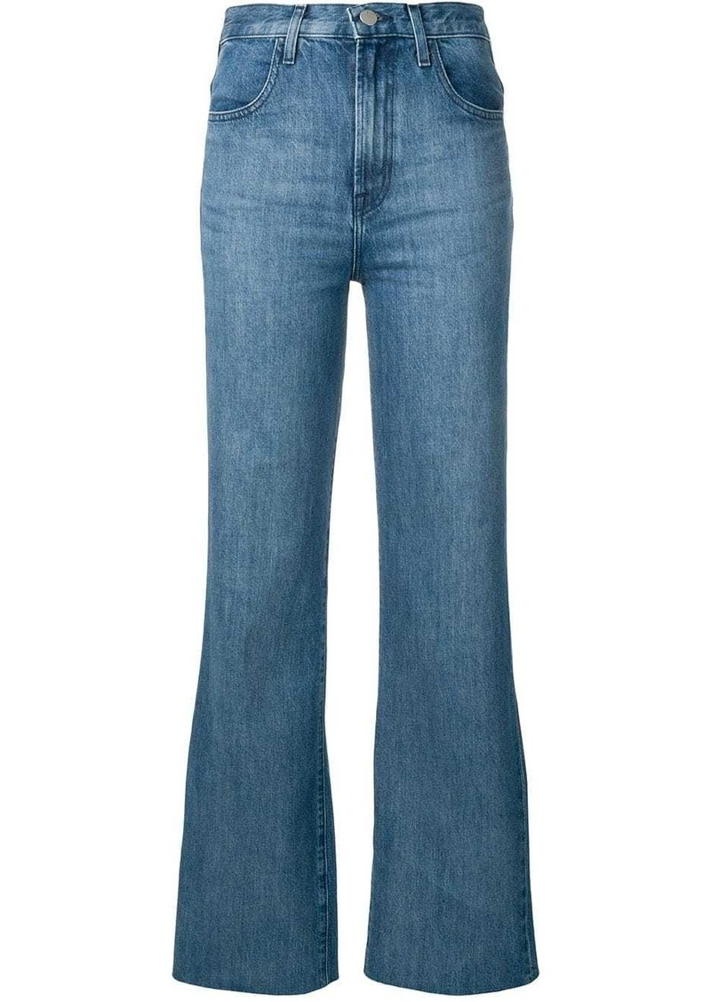J Brand turn-up hem jeans