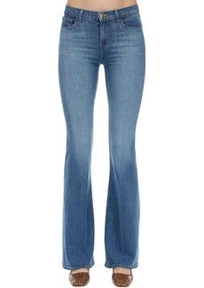 J Brand Valentina High Rise Flared Denim Jeans