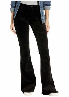 J Brand Valentina High-Rise Skinny in Black