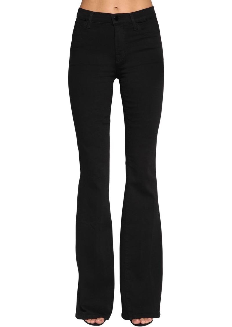J Brand Valentina High Waist Flared Jeans