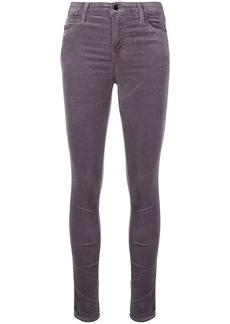 J Brand velvet skinny trousers