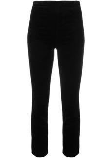 J Brand skinny velvet trousers
