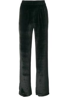 J Brand velvety track pants