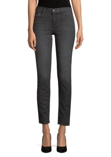 Washed Stretch Skinny Jeans