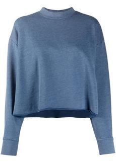 J Brand Wendy cropped sweatshirt