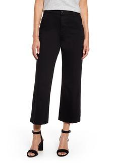 J Brand Joan High Waist Crop Wide Leg Trouser Jeans