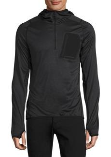 J. Lindeberg Active Hooded Running Jacket