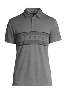 J. Lindeberg Ade Regular-Fit Jacquard Polo Shirt