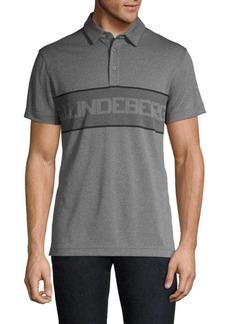J. Lindeberg Ade Regular-Fit Jacquard Polo Shirt