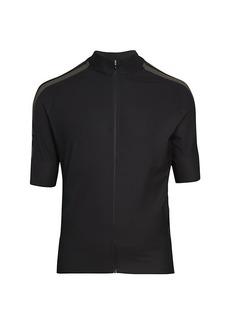 J. Lindeberg Bike Speed Zip-Up T-Shirt