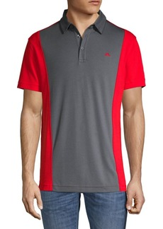 J. Lindeberg Colorblock Short-Sleeve Polo
