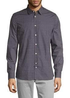 J. Lindeberg Dani Geometric Print Shirt