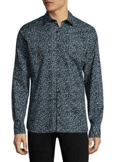J. Lindeberg Daniel Season-Print Button-Down Shirt