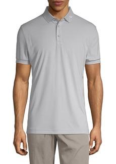 J. Lindeberg Embroidered Logo Short-Sleeve Polo
